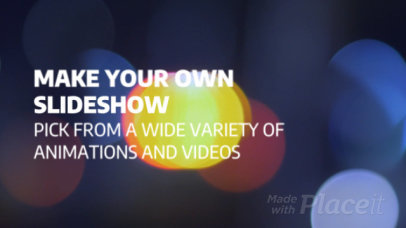 Modern Slideshow Video Maker 805