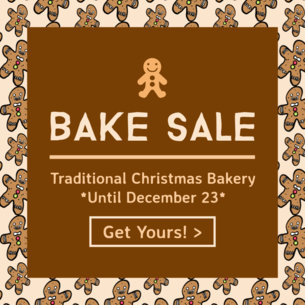 Christmas Bake Sale Ad Template 775c