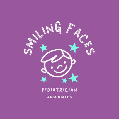 Pediatrician Specialist Logo Design Maker 1532a