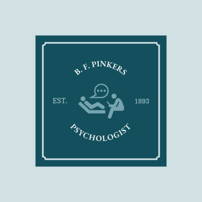 Logo Generator for Psychologists 1525c
