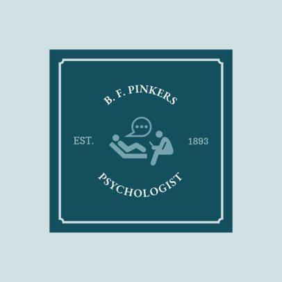 Logo Generator for Psychologists 1525c