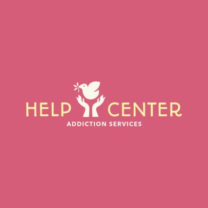 Logo Generator to Create a Help Center and Rehab Logo 1502c
