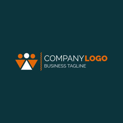 Corporate Logo Maker with Icon 1517d