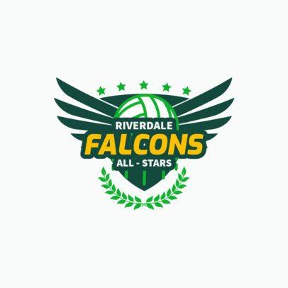 Logo Generator for a Volleyball Team 1512e