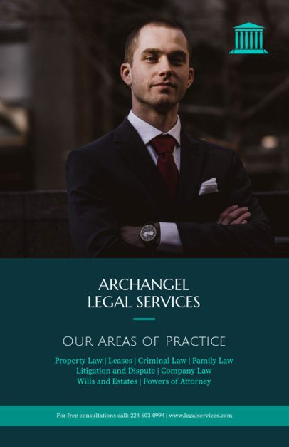 Legal Services Flyer Maker for a Law Firm 690e