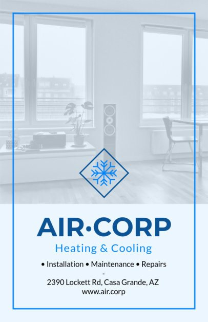 Flyer Maker for Heating and Cooling Maintenance 731b