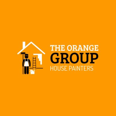 Logo Generator for Residential Painters 1446b