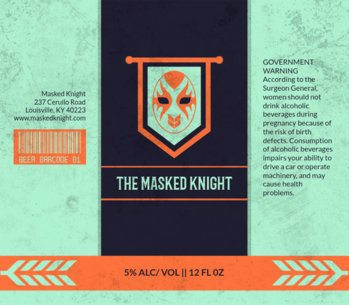 Beer Label Design Template with Lucha Graphic 765e