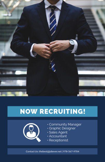 Online Flyer Maker for a Recruitment Flyer 726c