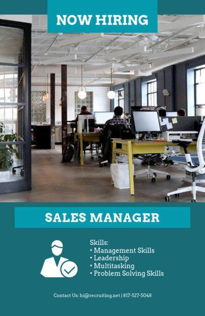 HR Flyer Maker for a Recruitment Campaign 726d
