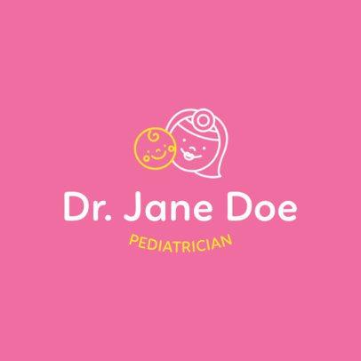Logo Design Generator for Pediatricians 1535e