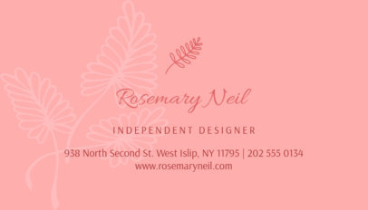Business Card Template for a Clothing Boutique 561b
