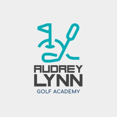 Golf Logo Generator 1554c