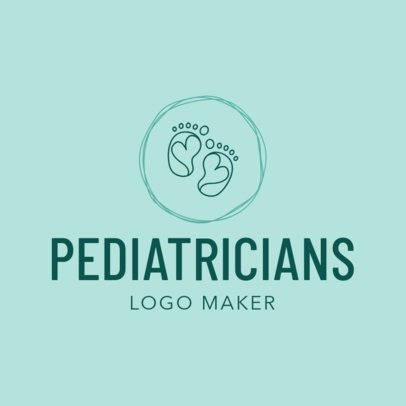 Pediatrician Logo Maker for a Pediatric Clinic 1536d