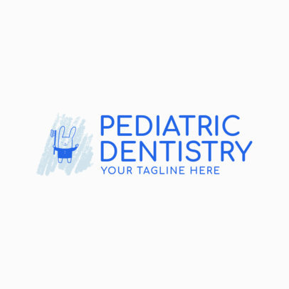 Pediatric Dentistry Logo Maker 1536b