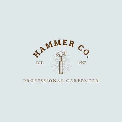 Carpenter Logo Creator 1549c