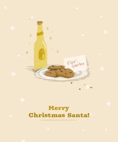 Xmas Tee Design Generator with Christmas Cookies 837d