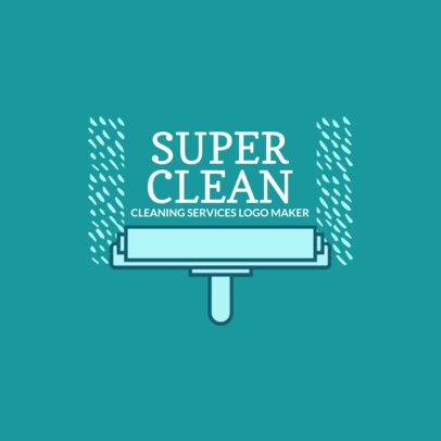 Logo Generator for Super Clean Company 1446c