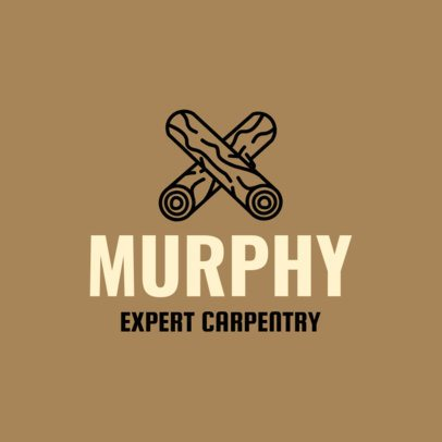 Expert Carpentry Logo Design Maker 1551e