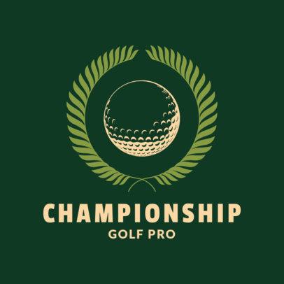 Golf Team Logo Maker 1556