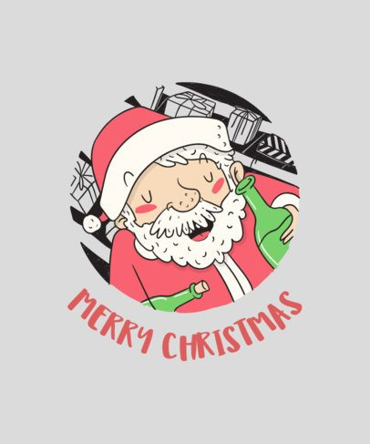 Merry Christmas T-Shirt Design Generator 830e