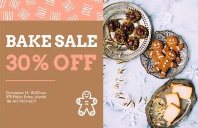 Holiday Flyer Maker for a Christmas Bake Sale 860e