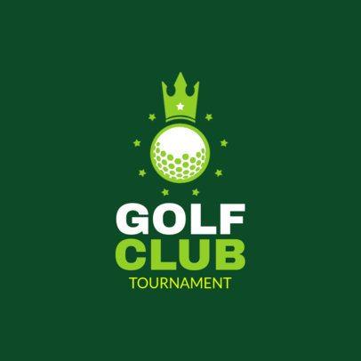 Golf Club Logo Template 1558