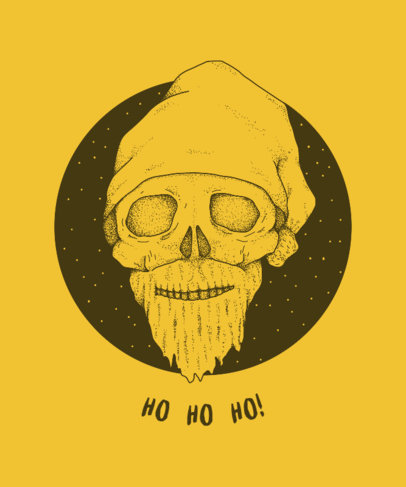 T-Shirt Design Generator for a Scary Christmas 825e