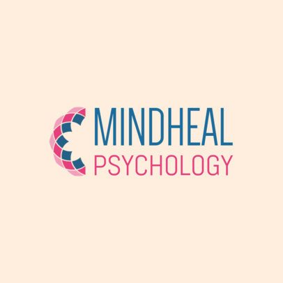 Psychologist Logo Maker for a Mental Health Therapist 1526