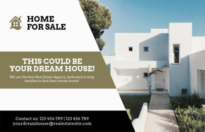 Minimalistic Flyer for Real Estate Agents 242b