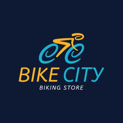 Cycling Logo Maker for a Biking Store 1571
