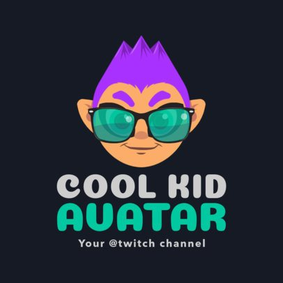 Gaming Logo Maker with Avatar for Twitch 1460