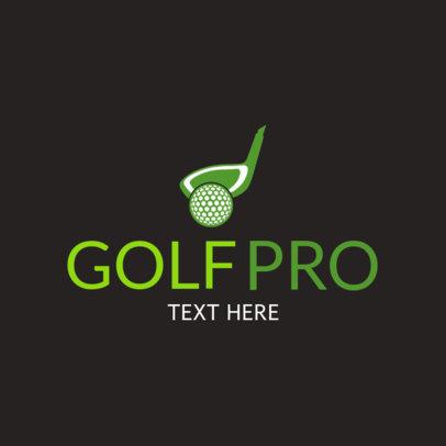 Pro Golf Logo Maker 1558a