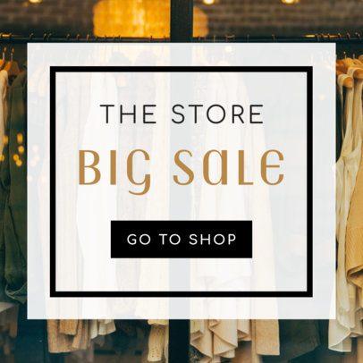Shopping Sale Banner Maker 269e