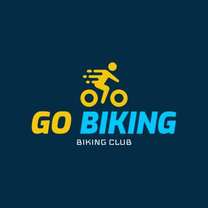 Biking Logo Generator for a Biking Club 1573
