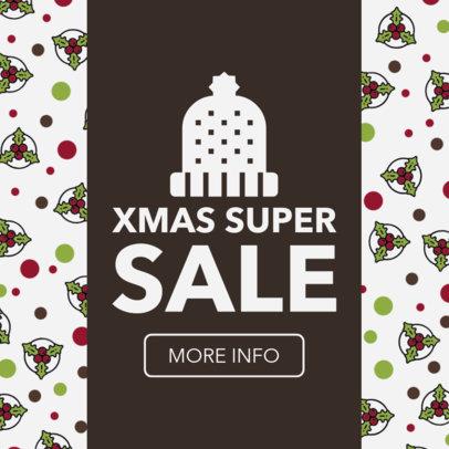 Christmas Super Sale Ad Maker 784c