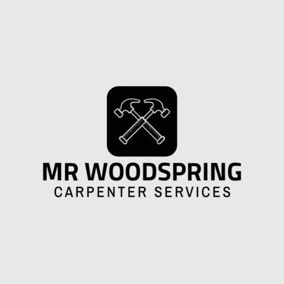 Carpenter Services Logo Generator 1547e