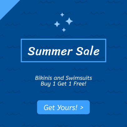 Summer Sale Ad Banner Creator 745c