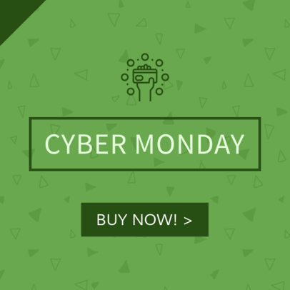 Ad Banner Maker for Cyber Monday Sale 745d