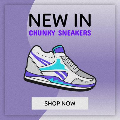 Banner Maker for Sneaker Stores 520b