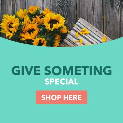 Banner Generator for Flower Shops 16616a
