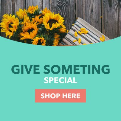 Banner Generator for Flower Shops 16616a