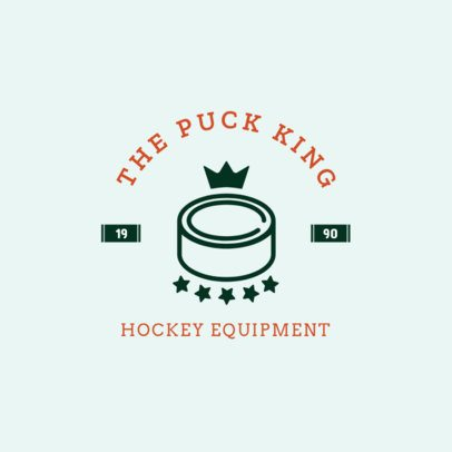 Hockey Logo Creator for a Hockey Equipment Store 1563d