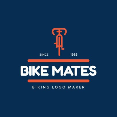 Cycling Logo Maker 1572b