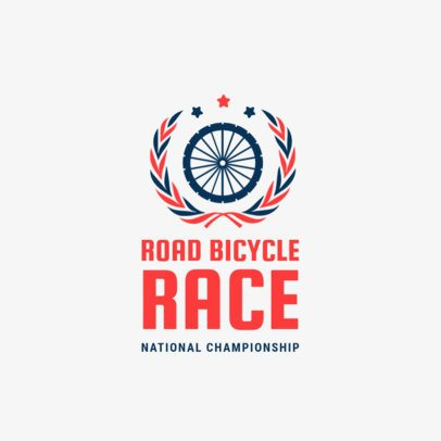 Biking Logo Maker for a Bicycle Championship 1571d