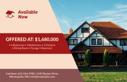 Real Estate Agency Flyer Design Template 242c