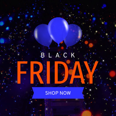 Simple Black Friday Ad Banner Template 749d
