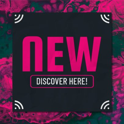 Banner Creator for New Arrivals 546c