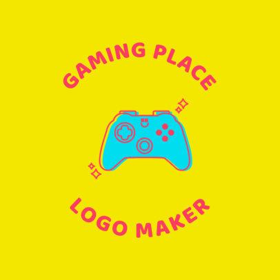 Gaming Logo Maker with Retro Gaming Graphics 1636