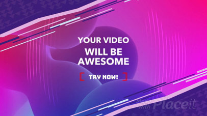Abstract Youtube Ad Video Maker 650